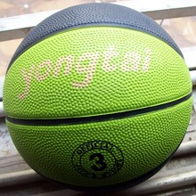 Hot sale size 3 Colorful Rubber Basketball