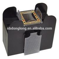 6 deck automatic plastic card shuffler blackjack card shoe plastic card shoe