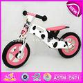 2014 design bonito de madeira do brinquedo da bicicleta para crianças, barato bicicleta de madeira do brinquedo para as crianças, venda quente de madeira equilíbrio da bicicleta para baby w16c077