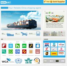 Competitive international china to new zealand ocean freight container shipping price
