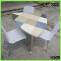 Granito top de jantar mesa redonda/mesa de jantar especial/granito mesa de jantar conjuntos para venda