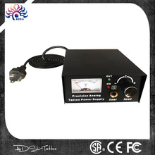 DIGITAL Tattoo Machine Power Supply Box KIT Double PRO Black Source