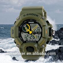 Man Dual Multi-functional Quamer Sport Watch Wholesale Price