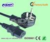 CE CCC UL Certificates European standard plug PC power cord