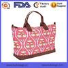 Factory Floral Printed Canvas Tote Duffel Bag Travel Bag Digit Print Travel Bag OEM