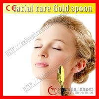salon/personal use golden spoon facial massage