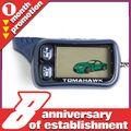 20% off a la venta!!! Tomahawk dos coches manera sistema de alarma lcd mando a distancia universal para coche con motor de arranque del motor de arranque