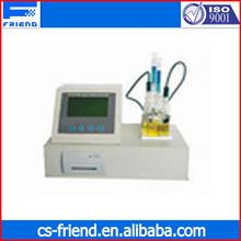 Petroleum product trace moisture meter