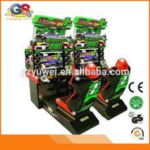 Top grade original racing car game machine video games