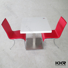 shenzhen restaurant & hotel supplies big marble table / modern restaurant tables and chairs