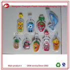 65ml Vivid design kids love various fruit shape juice plastic pouch bag
