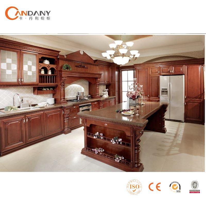 Modieus ontwerp moderne massief houten keuken kast antieke keukenkast keuken kasten product id - D co keuken ...