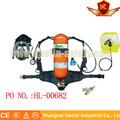 Respiratore test/in fibra di carbonio cilindro/professionale utilizzando autorespiratore ad aria a pressione positiva