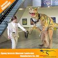 parque temático de atracción realista de halloween producto artificial animatronic traje de dinosaurio