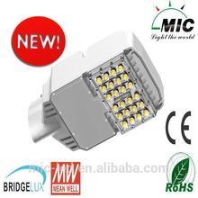 HOT! Bridgelux chip ASA waterproof Heatsink MIC 50w cast iron street light with EMC