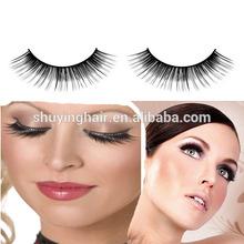 wholesale Colorful Feather Eyelashes False With Competitive Price 100% Mink False Eyelashes Glamour Style Fur Lashes Fake Black
