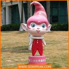 garden decorative fiberglass cute fairy statue