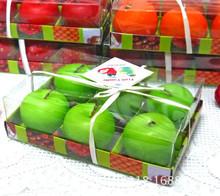 früchte geformt handwerk kerze