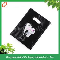 Custom made plastic shopping bag