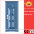 Novo mais barato simples de grade de design de janelas de ferro SC-S083