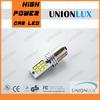 Hotsale 1156 3W 6500K 12/24V car led back-up light 1156 tail tuning light