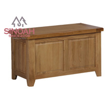 306 Rustic style solid American white oak blanket box/bedroom furniture