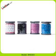 Fashion Style Flexible Wireless Rubber Keyboard BK6303