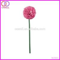 decoration single green artificial onion