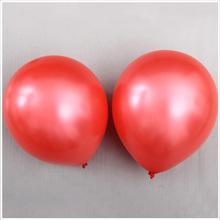10-inch 1.3 g pearl Red balloon balloon wedding room decoration
