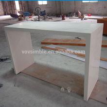 Customized poly-resin bar tables, high top bar tables