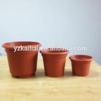 cheap plastic flower pot set
