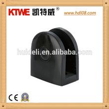 Plastic black U bracket brace,wall mount bracket