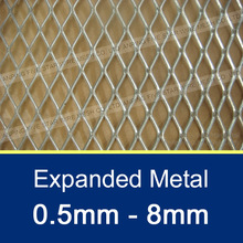 5mm*10mm/ 4'*10m Hot Dip Galvanized Expanded Metal Mesh