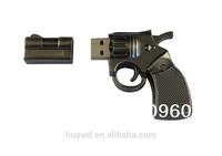 Newest Style Gun Shaped USB Memory Disk fashion punk Gun