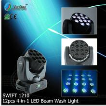 VANGAA Swift 1210 sharpy beam 12pcs zoom led moving head wash