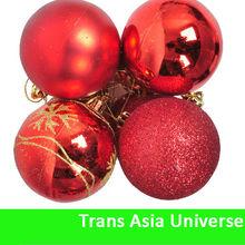 Hot Selling Custom Cheap 6cm popular christmas ball