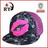 New product mesh trucker caps 2014 custom design cheap lips sexy trucker caps