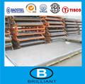 Prix usine! Plaque en acier inoxydable super duplex 316l au nigeria
