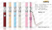 2014 newest electronic cigarette hot slim ego vaporizer pen kamry 1.0
