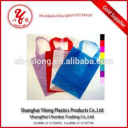 Heat Seal Sealing Handle and Plastic Material wine cooler plastic bag