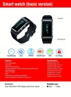 New fashion smart phone watch with pedometer and lost reminding function