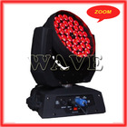 Hot WLEDM-11-4 Quiet 36 rgbw 4 in 1 10w leds wash disco zoom moving head led quad 36