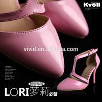 2014 kvoll fashion high quality not moq requirement women sandals L73595