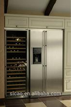 Build in 380L 142 bottles wine fridge,wine cooler for home,club