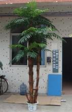 Venda quente artificial oconut bonsai árvore para decoração de interiores
