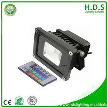 light led hot sale 2014 new products flood light led 10w led controller rgb program
