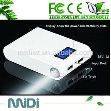 High Brightness LED Hand Lamps Mobile Portable Power Bank