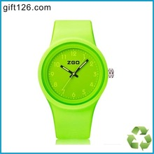 Custom logo Silicone Waterproof Jelly Watches