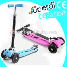 2014 New Patent 4 wheel children walking scooter