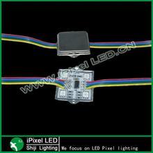 4 LEDs smd 5050 12v ws2801 ic pixel led module CE, RoHS